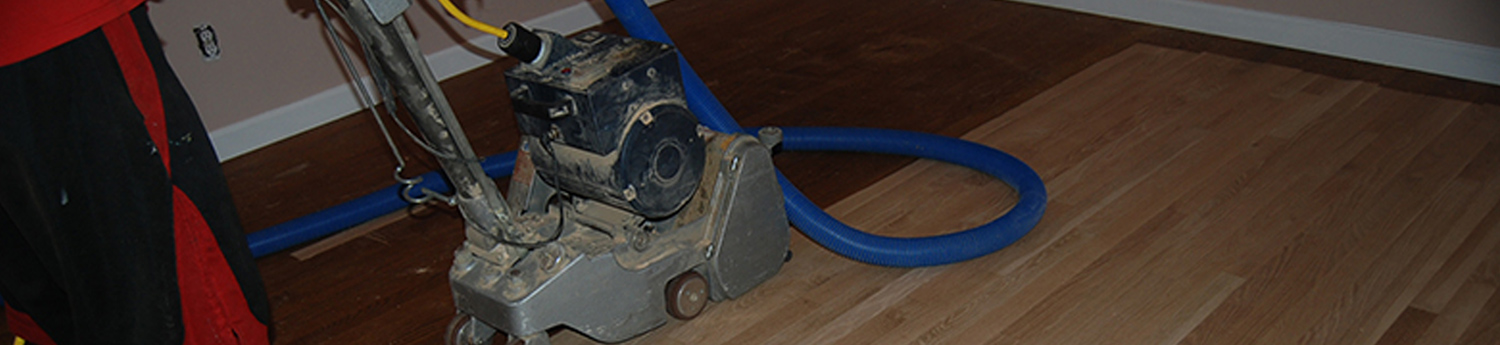 A floor duster used by the hardwood flooring contractor Ron Wilson and Sons in Pelham, NH